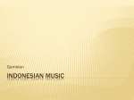 Indonesian Music - The International School of Penang