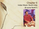 Chapter 6: Music of India