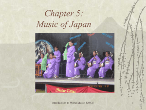 Lecture 10: Music of India (cont.)