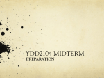 Midterm Preparation