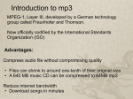 MP3 Audio Compression