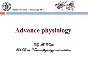 BIOLOGY 2311 ANATOMY AND PHYSIOLOGY PART I LECTURE 1