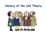 The History of the Cell Theory