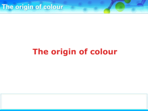 PP The origins of colour