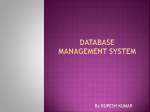 Database management system - Augment Systems Private Ltd