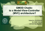 GMOD Chado: to a Model-View-Controller (MVC) architecture?