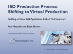 ISD Production Process: Shifting to Virtual Production