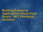 DEV309: Building Enterprise Applications Using Visual