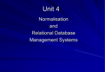 534 - Relational and Online Database Management Systems