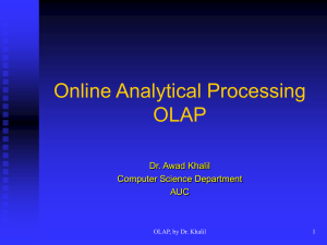 OLAP - Computer Science