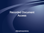 Deeds Access in the Johnson County Online Mapping