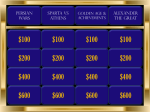IHI Open School Chapter Jeopardy Game
