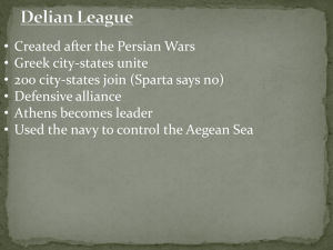 Peloponnesian War - Mr. Reustle's Social Studies