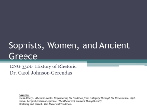 Women and Ancient Greece