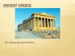 topic 4 ancient greece