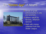 "The ""Golden Age"" of Athens"
