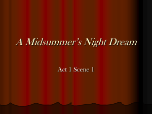 A Midsummer`s Night Dream