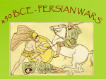 Persian Wars Notes
