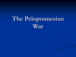 PowerPoint on the Peloponnesian War