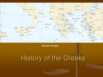 History of the Greeks