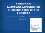 European Exploration & Colonization of the Americas
