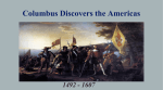 Columbus Discovers the Americas