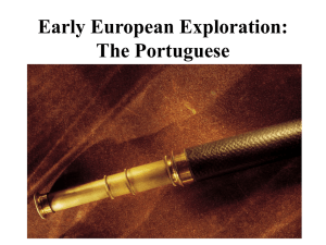 Early European Exploration - SheehyAPEuro