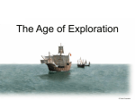 The Age of Exploration - Goshen Community Schools