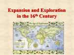 Chapter 15 Age of Exploration Power Point Lecture