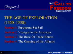 chapter 2 the age of exploration (1350–1550)