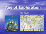 an age of exploration and expansion Made voyages of exploration possible (view the map) some of the explorers were looking for a faster way to get to asia and trade for silk, spices, etc (and avoid the moors taxes to cross the middle east) many times these voyages were funded by joint stock companies cities like amsterdam (left) grew very prosperous as places where.
