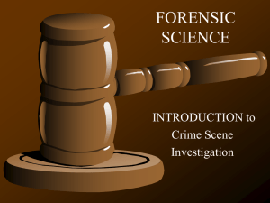 FORENSIC SCIENCE - Mount Mansfield Union High School