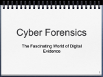 Cyber Forensics - Computer Science