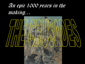The Crusades - Barrington 220