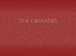 The Crusades - Kenston Local Schools