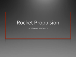 AP Rocket Propulsion