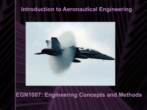 Introduction to Aeronautical Engineering