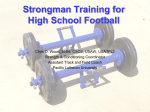 Strongman Training for High School Football