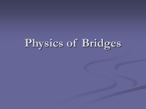 Physics of Bridges - Boy Scout Troop 8