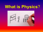 What is Physics PowerPoint