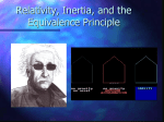 Relativity, Inertia, and Equivalence Principle