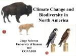 Climate Change and Biodiversity in North America