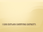 Carrying Capacity PPT