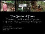 The Gender of Trees - World Agroforestry Centre