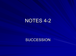 Succession Notes