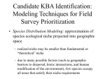 Future KBA Identification