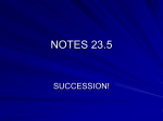 NOTES succession