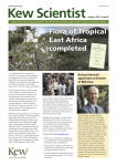 Kew Scientist Flora of Tropical East Africa completed