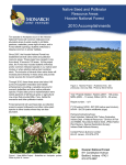Title text here 2010 Accomplishments Native Seed and Pollinator Resource Areas