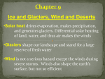 Geology and Climate Glaciers, Deserts, and Global Climate